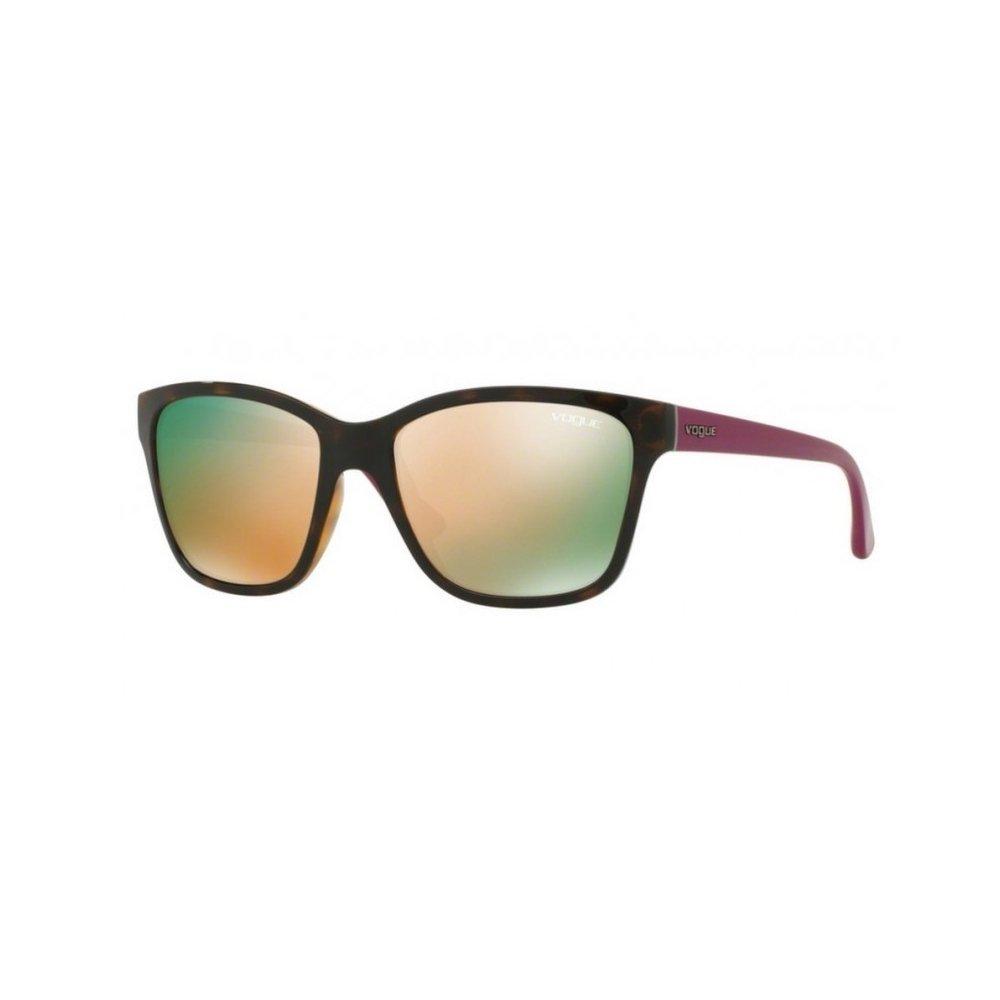 Black Vogue Eyewear Womens Sunglasses (VO2896S) Plastic