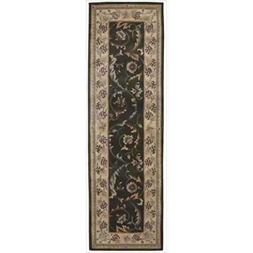 Nourison Hand-Tufted Versailles Palace Olive Rug (2' 3 x 8') Runner - 2'3 x 8'
