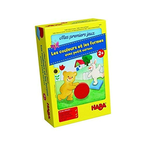 005975 /Mis Primeros Juegos/ /Los Colores Y Las Formas con Peque/ño Oso HABA/