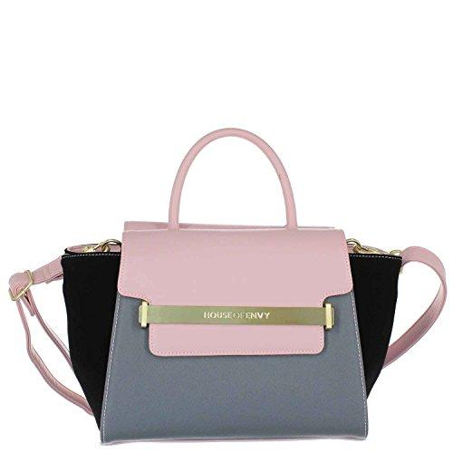 HOUSE OF ENVY Damen Handtasche Lovable grey combi