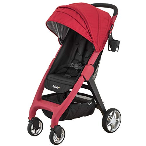 Larktale Chit Chat Compact Lightweight Travel Stroller, Barossa Red