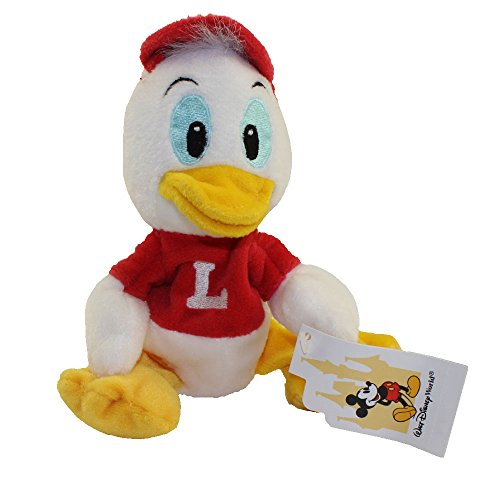 Disney Bean Bag Plush - LOUIE (Red Shirt - Walt Disney World Tag)(Donald's Ducks)(7 inch)