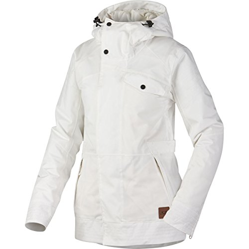 Oakley Women's Showcase BZI Jacket, Small, Arctic - Jackets Oakley Womens