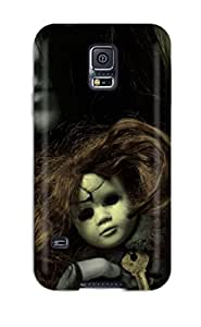 High Impact Dirt/shock Proof Case Cover For Galaxy S5 (creepy Ghost Girl)