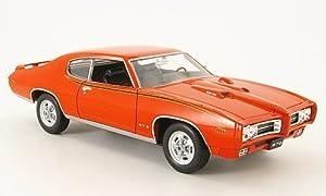 Pontiac GTO, the Judge , 1969, Model Car, Ready-made, Welly 1:24 by Pontiac