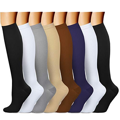 53d29d62a0c QUXIANG Copper Compression Socks for Women and Men - Best Medical Sports