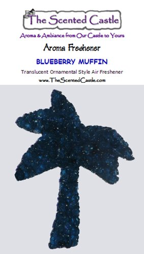 2-Pack Palm Tree - Blueberry Muffin Scented Air Freshener by The Scented Castle