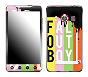Zing Revolution MS-FOB20132 Fall Out Boy - Logo Cell Phone Cover Skin for HTC Evo 4G