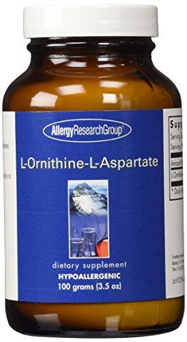 Allergy Research Group L-ORNITHINE-L-ASPARTATE, 100 Gram Powder