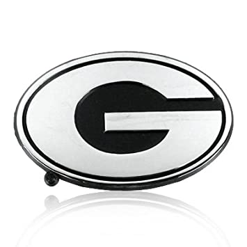 Amazon University Of Georgia Chrome Metal Car Emblem Automotive