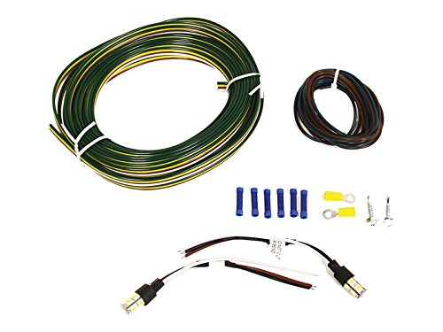 - Blue Ox  LED Tail Light Wiring Kit with clear Bulb