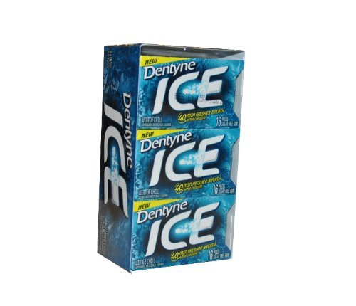 NEW Dentyne Ice Winter Chill Sugar Free Gum by Dentyne