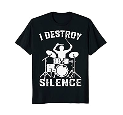 Funny Drummer T Shirts - Funny Drums T-shirt Tee Gift