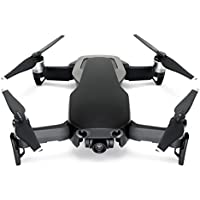 Wrapgrade Poly Skin for DJI Mavic Air | Unit A: Colored Parts and Rear Trim (STEALTH BLACK)