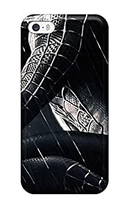 Best Iphone 5/5s Case Cover - Slim Fit Tpu Protector Shock Absorbent Case (spider-man)