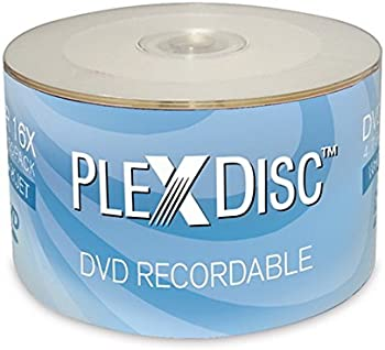 50-Pack PlexDisc 632-210 4.7GB DVD-R DVD Spindle