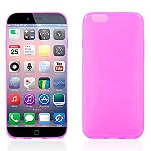 JOE Ultrathin Mill Finish TPU Soft Cover for iPhone 6 (Assorted Colors) , Rose
