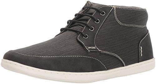 Steve Madden Heren Landor Fashion Sneaker Zwarte Stof