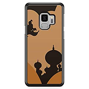 Loud Universe Aladdin Minimal Palace Brown Samsung S9 Case Aladdin Classic Cartoon Network Samsung S9 Cover with Transparent Edges