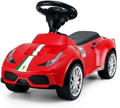 Ricco Toys Ferrari Licensed Kids Ride On Foot Push Along Sliding Toy Car Push Power Ride Ons Accessories Ecog Toys Games
