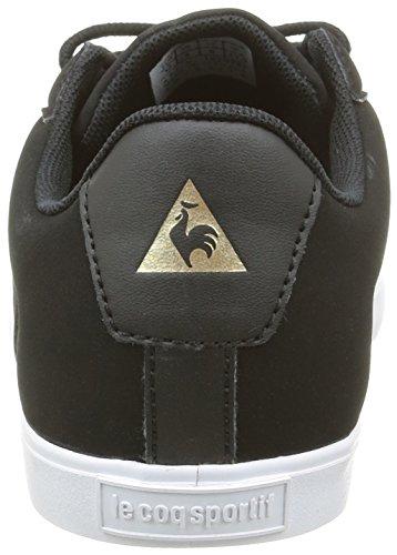 Le Coq Sportif Agate Lo S, Zapatillas para Mujer Negro (BlackBlack)