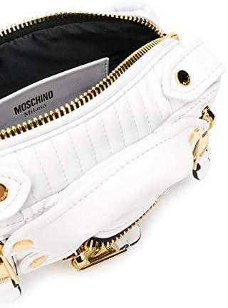 MOSCHINO Luxury Fashion Femme A772580020001 Blanc Cuir Sac Banane   Printemps-été 20
