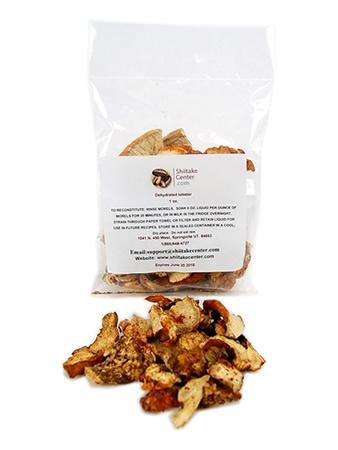 Dried Lobster Mushrooms - 1 Oz Pakcage - Dehydrated Edible Gourmet Mushrooms - Hypomyces Lactifluorum (Freeze Dried Lobster compare prices)
