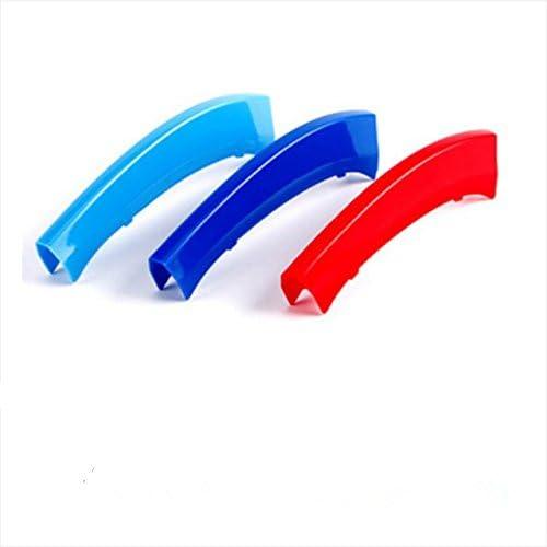 Tuqiang 3 Farben 3d Frontgrill Grills Trim Streifen Abdeckung Leistung Dekoration Aufkleber Für X3 X4 F25 F26 Auto