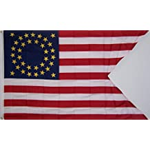 Large 3Ftx5Ft 35 Star 7Th Cavalry Store Banner Flag
