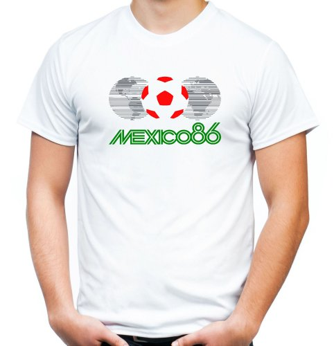 Mexico 86 T-Shirt | Fussball | Kult | Retro