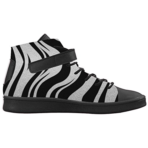 Dalliy zebra stripe Mens Canvas shoes Schuhe Footwear Sneakers shoes Schuhe C