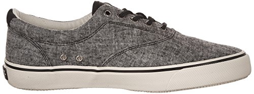 Sperry Top-sider Mens Striper Ll Cvo Fashion Sneaker Nero Lino