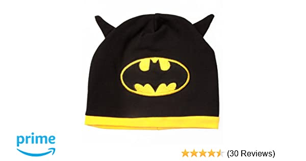a8292200d68 Amazon.com  Batman - Baby Infant Hat with Logo and Bat Ears  Infant And  Toddler Hats  Clothing