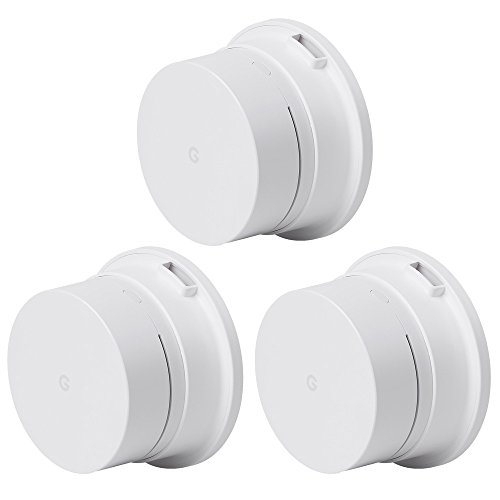 Wall Mount Bracket Ceiling Mount Stand Holder for Google Wifi, ABS, White (3-Pack)