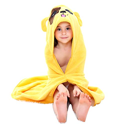 Premium Kids Hooded Towel Ultra Soft 100% Cotton Super Absorbent Thick Baby Towel Perfect Baby Shower Gift for Boy or Girl