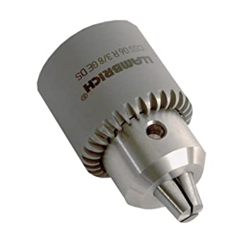 """Llambrich CSS Keyed Stainless Steel Drill Chuck with Passivation Treatment, 5/16""""-24 Mount, 0.011""""-0.157"""" Capacity"""