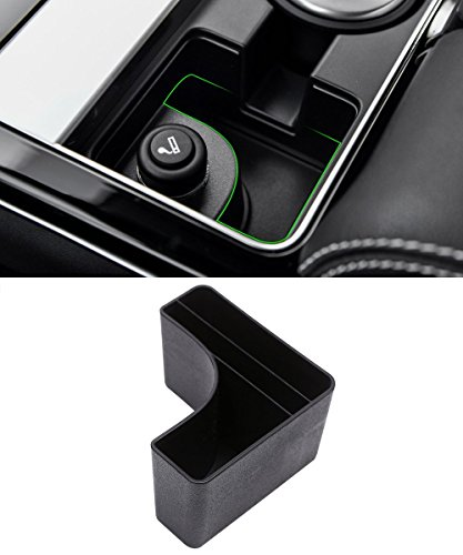 Plastic Central Console Storage Box Cup Holder Accessory For Land Rover Range Rover Velar 2017