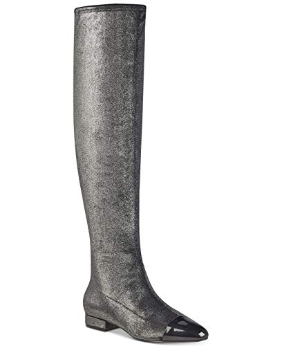 Multi Fabric Ivanka Trump Boot Silver Alie Women's qqRXwOf