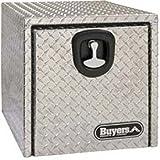 Aluminum Underbody Truck Box, 18'' X 18'' X 24'', Gray