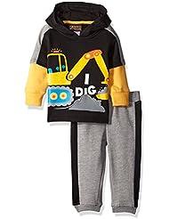 Boyzwear Baby Boys' 2 Piece Hooded Fleece and Pant Set