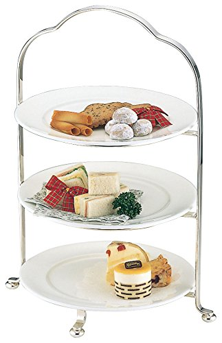 3 stage high tea stand large 1445-0400 5218an (japan import) by Wada assistant Works (Image #1)