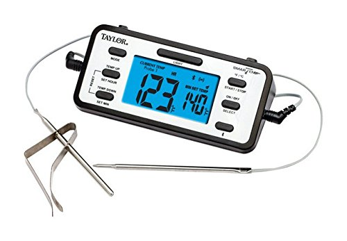 TAYLOR 1485 SmartTemp Dual-Probe Bluetooth Thermometer Home,