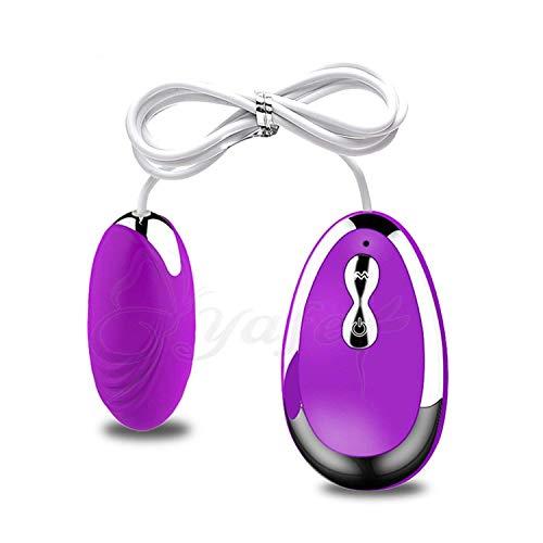 BCJSQ Adult Toys Víbrátórs Wireless Remote Control Vibrating Egg Clitoris Stimulator Multispeed Mini Būllet Víbrátór Sexxxs-Toys Black,Purple Tshirt