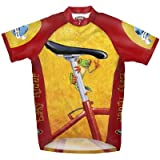 Primal Wear Easy Rider Frog Cycling Jersey Men's Short Sleeve