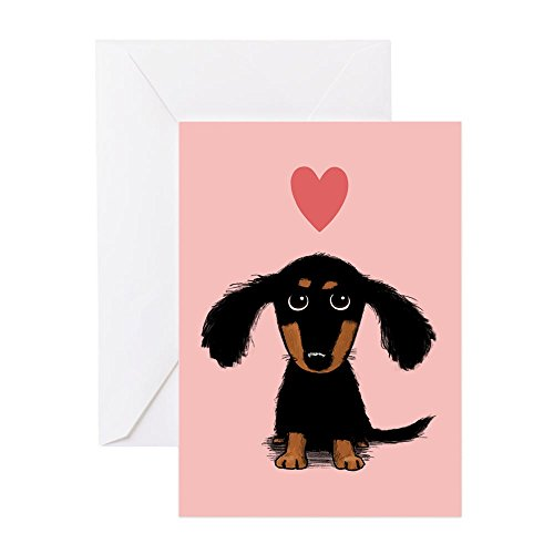 CafePress - Dachshund Puppy Love - Greeting Card (10-pack), for sale  Delivered anywhere in USA