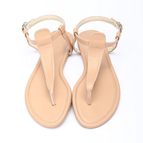 placas Las Marron de Hija Mujer de las y simple sandalias Ciclo OCHENTA ngY6C0qPw6