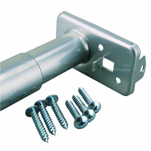 Closet-Pro PB0022-96150 Adjustable Closet Rod, 96-Inch to 150-Inch (Sterling Rod John Closet)