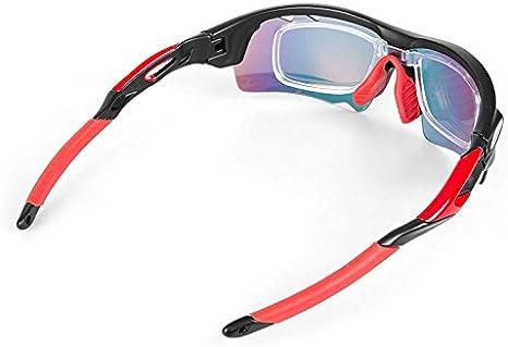 INBIKE Lunettes de cyclisme Homme Femme polaris/ées V/élo Eyewear Lunettes de V/élo Sports de plein air Lunettes de soleil Lunettes de 5/groupes dobjectifs