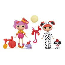 Mini Lalaloopsy Dolls 2-Pack - Peanut and Amber