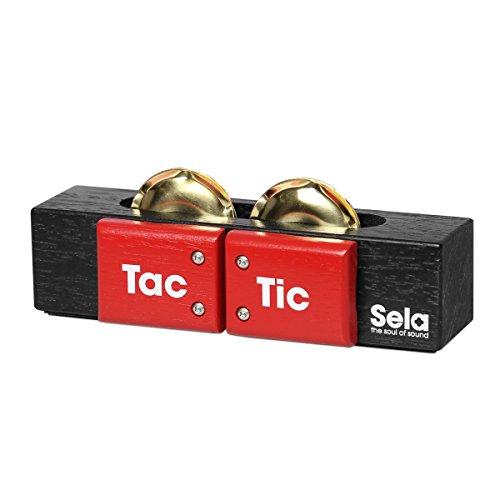Sela SE 055 Tac Tic 3-in-1 Multi-Percussion Tool for Cajon, Conga, Djembe, Hang Drum (Meinl Professional Conga Bag)